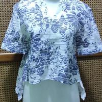 preloved blouse motif bunga