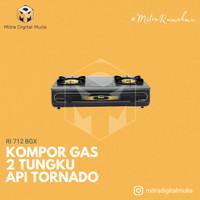 Rinnai RI 712 BGX Kompor Gas 2 Tungku Api Tornado