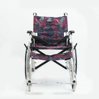 Kursi Roda Travel Juara JML 02 Aluminium – Lipat Ringan untuk Haji