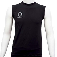 baselayer sleeveless ORTUSEIGHT hitam original new 2020