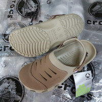 Sandal Crocs Yukon Leather pria/ssandal Crocs yukon leather /Yukon