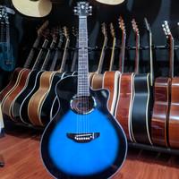 Gitar Akustik Custom Yamaha APX 500 II Blue Sunburst