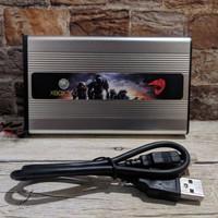 Hardisk External HDD Eksternal Full Game XBOX 360 Slim Fat Games RGH - 60GB, USB 2.0