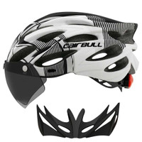 CAIRBULL Helm Sepeda Lipat MTB Roadbike Powermeter Lensa Kacamata CB26