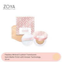 Zoya Cosmetics Flawless Mineral Cushion (Translucent)
