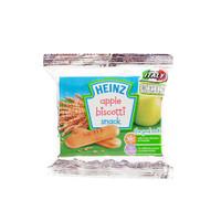 heinz apple biscotti snack biscuit 60gr | biskuit bayi rasa apel