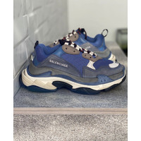 Balenciaga Triple S Sneakers Cool Blue Grey
