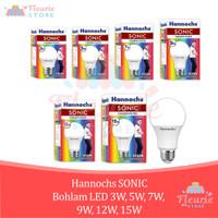 HANNOCHS Sonic Bohlam LED CoolDaylight/Warm White -3W 5W 7W 9W 12W 15W