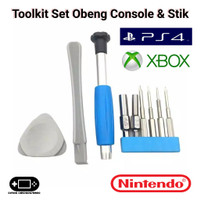 Toolkit Tool Kit Obeng Nintendo Switch Wii 2DS 3DS DS Lite PS3 PS4