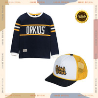 ORKIDS Baju Kaos Anak + Topi