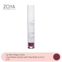 Zoya Cosmetics Lip Paint Magic Purple 01