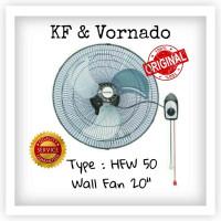 Kipas angin Dinding /wall Fan Besi 20 inci - HFW50 VORNADO