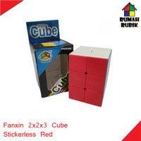 Rubik 2x2x3 Fanxin Cube Stickerless Red / FX7725SR