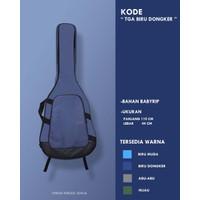 Softcase Gitar Akustik / Tas Gitar Akustik/ Tas Gitar 3/4 All Size TGA - Biru