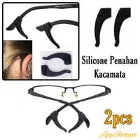 Karet Penahan Kacamata Belakang Telinga Silicon Sunglasses 2pcs