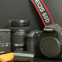 Second Kamera Canon Eos 60d Kit 18-200mm Mulus 60 18 200 Bekas Seken