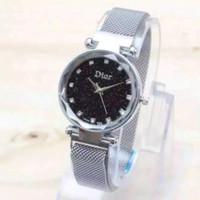 Jam tangan wanita dior magnet 1 rantai