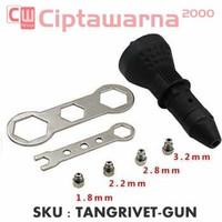 Tang Rivet Gun Adapter untuk Bor portable