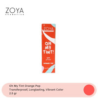 Zoya Cosmetics Oh My Tint! 02 Orange Pop