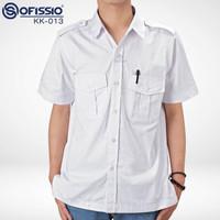 Kemeja Baju Putih PDH PNS dan Instansi- BISA BORDIR min 8pc