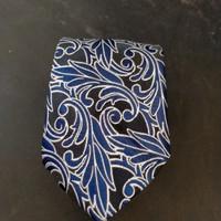 dasi batik keren - biru navi