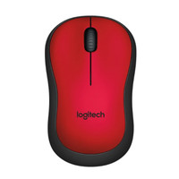 MOUSE LOGITECH WIRELESS M221 SILENT RED