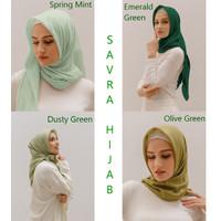 Savra Hijab Bamboo Green Series