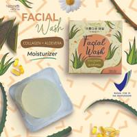 Naminara K- Beauty Facial Soap Bar 50gr Collagen + Aloe Vera Melembabk