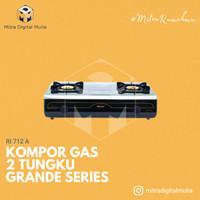 Rinnai RI 712 A Kompor Gas Grande Series Stainless