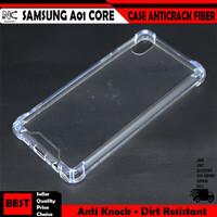 Samsung A01 Core 2020 A2 Core A31 Case Anticrack Fiber Cover Casing