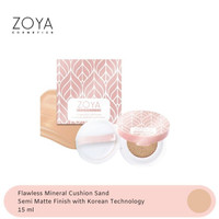 Zoya Cosmetics Flawless Mineral Cushion (Sand)