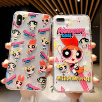 Vivo V3 V5 V7 V9 V11 V15 V17 V19 Pro Plus Power Puffgirl Case