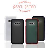 Bumper Case Samsung Galaxy S10 E Peach Garden G975 Cover Casing