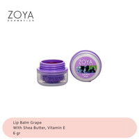 Zoya Cosmetics Lip Balm Grape 01