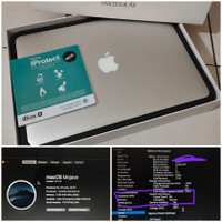 MacBook Air 2017 13 Inch Core i5 Ram 8GB SSD 128GB Silver MQD32