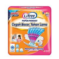 Lifree Popok Perekat Dewasa M 1 Isi 48 pcs - Pampers/Diapers Original
