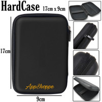 Hardcase HDD Pouch Tas Universal Pouch Carrying Case 17cm x 9cm x 4cm