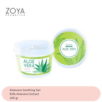 Zoya Cosmetics Aloe Vera Soothing & Moisturizing Gel