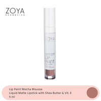 Zoya Cosmetics Lip Paint Mocha Mousse 06