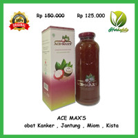 Ace Maxs Original / Ace-max / obat Kanker , Jantung , Miom , Kista