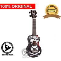 Ukulele Soprano Mahalo Pirate Black MA1PI-BK + Softcase