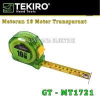 METERAN Transparant 10m / 7.5 m TEKIRO