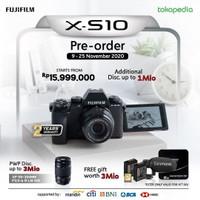 Fujifilm XS10 / Fuji X-S10 BO + XF 55-200mm GARANSI FUJIFILM INDONESIA