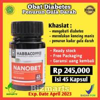 Obat Herbal Diabetes NANOBET Asli Penurun Gula Darah Secara Alami