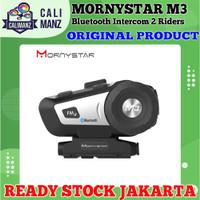 MORNYSTAR M3 Intercom Music GPS Telpon Bluetooth Headset For Helmet