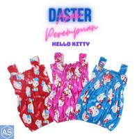 Daster Yukensi Dress Anak Perempuan Hello Kitty Usia 1-2 Tahun Newborn - Merah