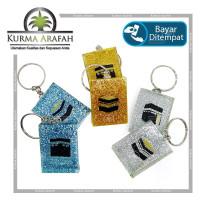 Gantungan Kunci Kabah 2D Per pcs / Souvenir Oleh Oleh Haji Umroh