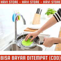 Dish Cleaning Brush - Spons Silicon Cuci Piring Anti Bakteri
