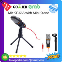 Microphone Condenser SF-666 Professional Studio with Stand