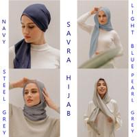 Savra Hijab Bamboo Blue Series